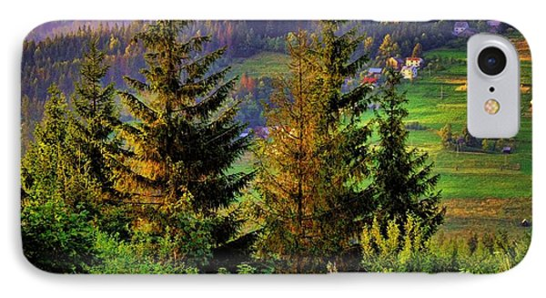 IPhone Case featuring the photograph Beskidy Mountains by Mariola Bitner