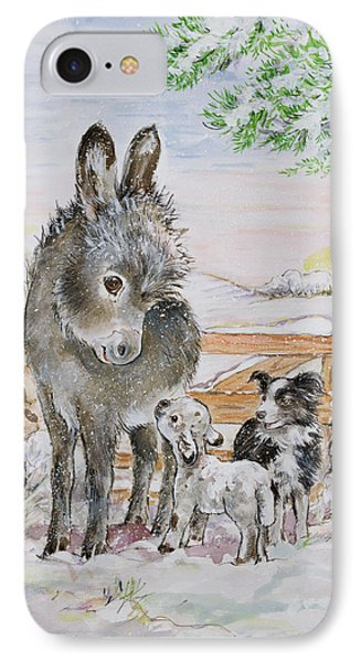 Best Friends IPhone Case by Diane Matthes