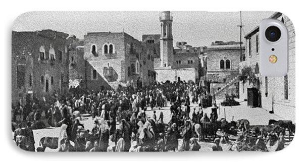 Bethlehem 1925 IPhone Case by Munir Alawi