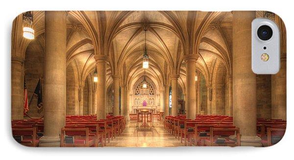Bethlehem Chapel Washington National Cathedral IPhone Case by Shelley Neff