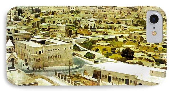 Bethlehem In 1960 IPhone Case by Munir Alawi