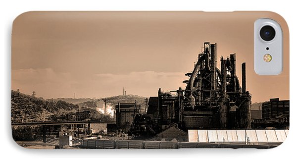 Bethlehem Steel Phone Case by Bill Cannon