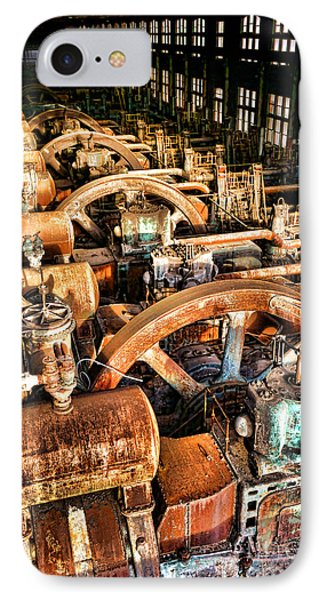 Bethlehem Steel Blower House IPhone Case by Olivier Le Queinec
