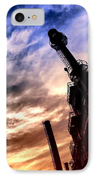 Bethlehem Steel Glory IPhone Case by Olivier Le Queinec