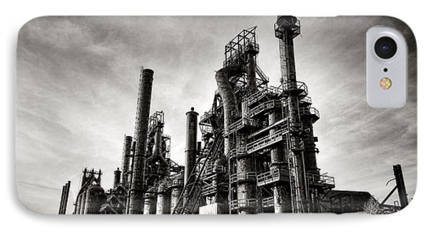 Bethlehem Steel IPhone Case by Olivier Le Queinec