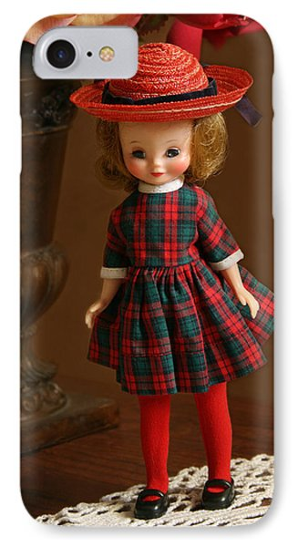 Betsy Doll IPhone Case by Marna Edwards Flavell