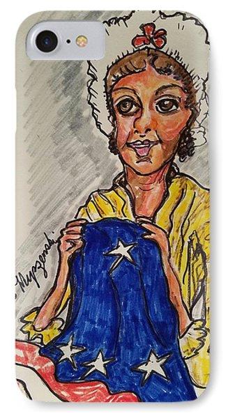 Betsy Ross IPhone Case by Geraldine Myszenski