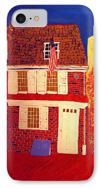 Betsy Ross's House IPhone Case