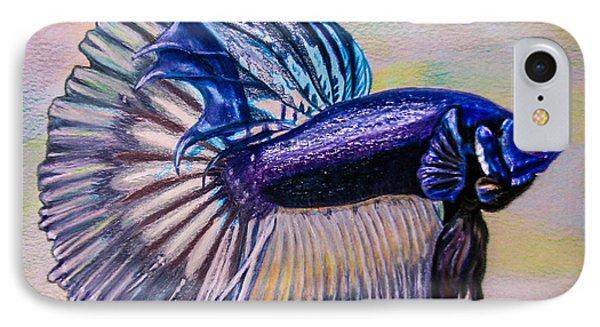 Betta Fish IPhone Case by Zina Stromberg