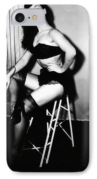Bettie Page IPhone Case by American School