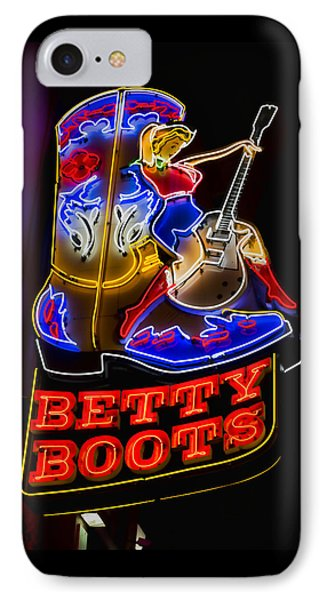 Betty Boots IPhone Case by Stephen Stookey