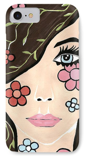 IPhone Case featuring the painting Betty by Kathleen Sartoris