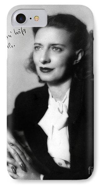Betty Smith (1896-1972) IPhone Case
