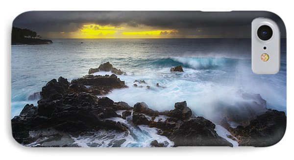 IPhone Case featuring the photograph Between Two Storms by Ryan Manuel
