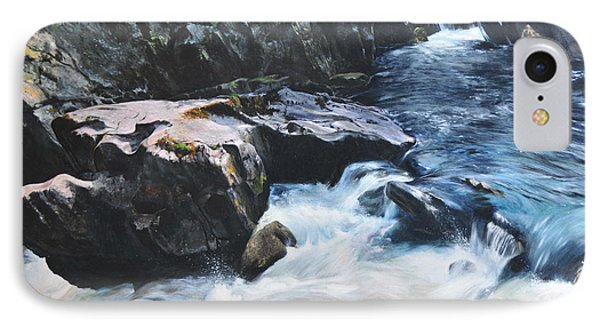 Betws-y-coed Waterfall Phone Case by Harry Robertson