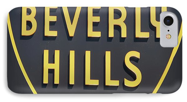 Beverly Hills iPhone 7 Case - Beverly Hills Sign by Mindy Sommers