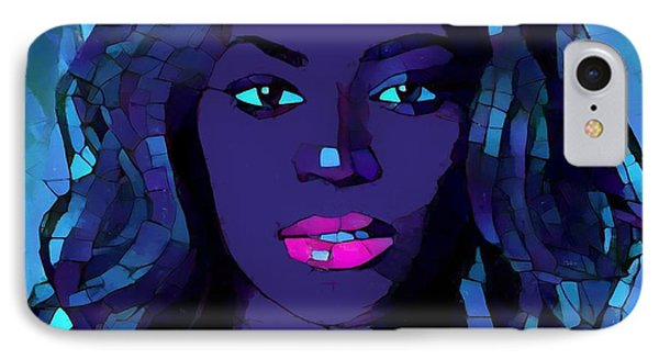 Beyonce Graphic Abstract IPhone 7 Case by Dan Sproul