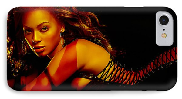 Beyonce IPhone Case by Marvin Blaine