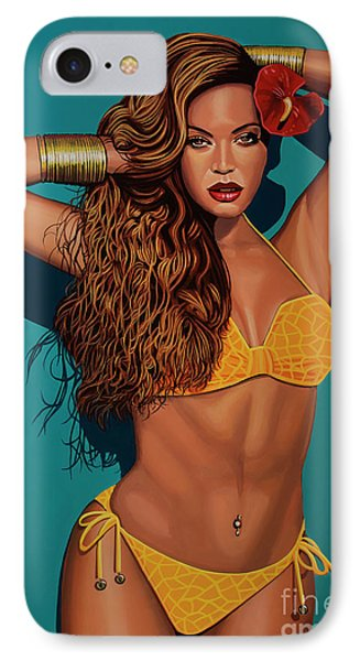 Beyonce 2 IPhone Case by Paul Meijering