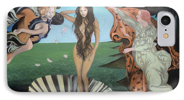 Beyonce - The Birth Of Venus IPhone Case by Angelo Thomas