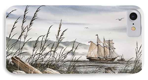 Beyond Driftwood Shores IPhone Case by James Williamson