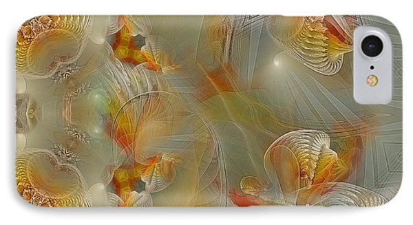 Beyond The Dance Of Life Phone Case by Gayle Odsather