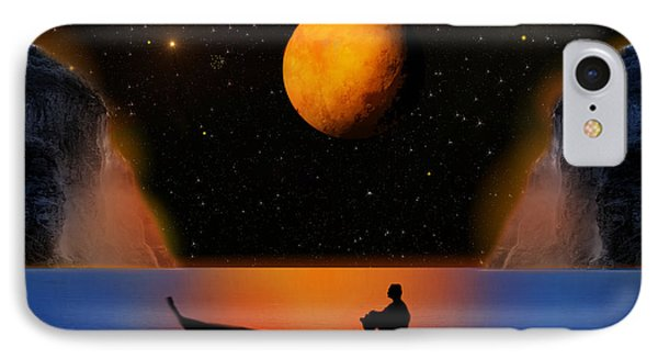 IPhone Case featuring the photograph Beyond The Stars by Bernd Hau