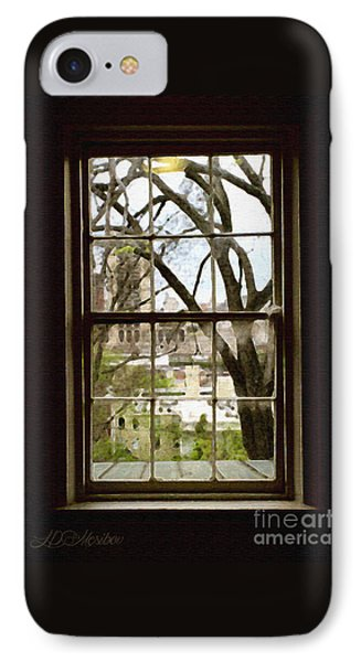 Beyond The Window Sill IPhone Case by Linda Mesibov
