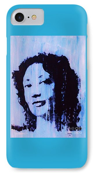 Bharati Mukherjee IPhone Case by Roberto Prusso
