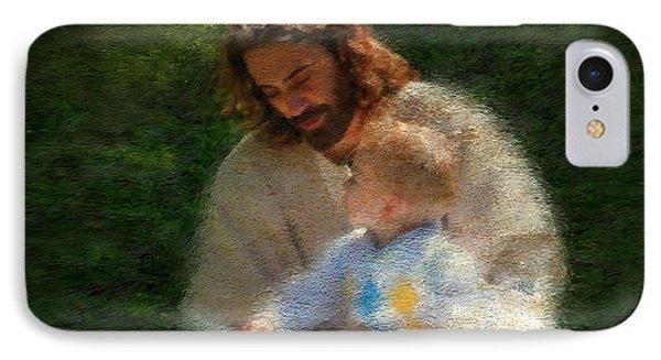 Jesus iPhone 7 Case - Bible Stories by Greg Olsen