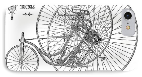 Bicycle, 1884 Phone Case by Granger