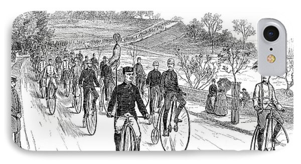Bicycle Meet, 1883 Phone Case by Granger