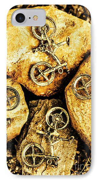 Bicycle Obstacle Course IPhone Case