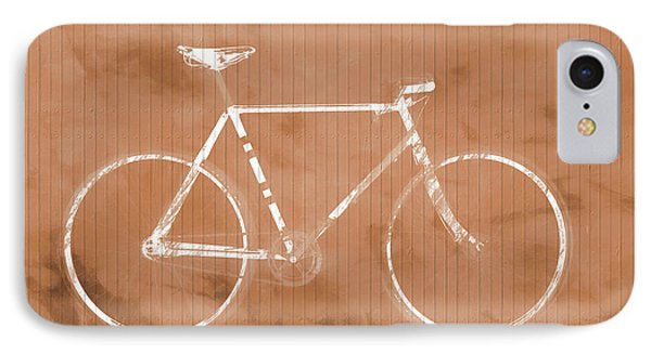 Bicycle On Tile IPhone Case by Dan Sproul