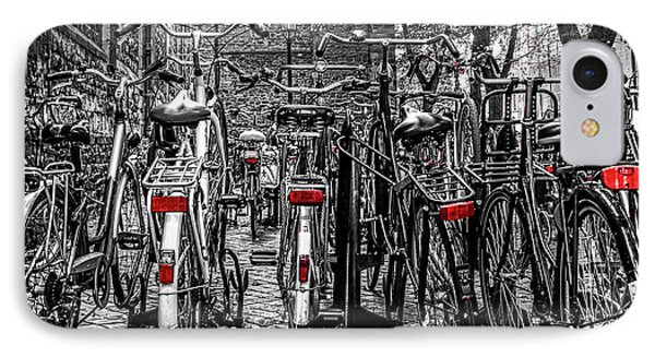 Bicycle Park IPhone Case