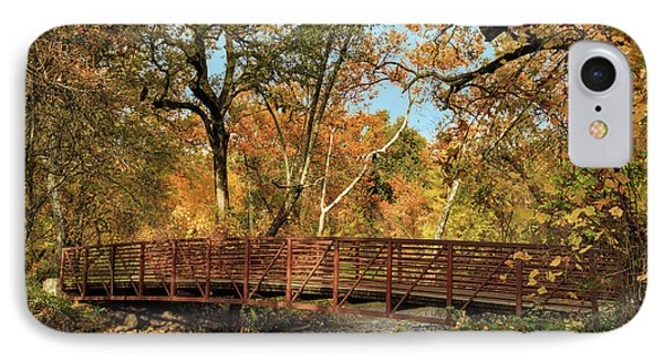 IPhone Case featuring the photograph Bidwell Park Bridge In Chico by James Eddy