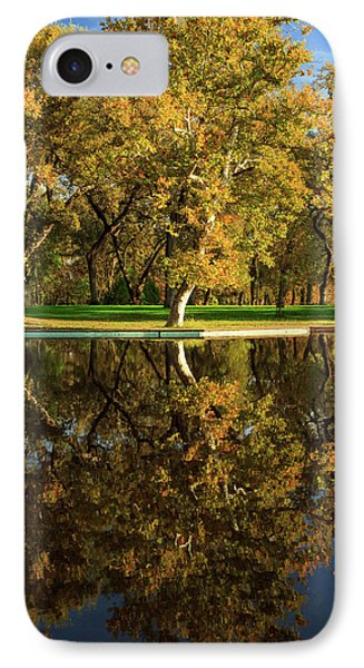 Bidwell Park Reflections Phone Case by James Eddy
