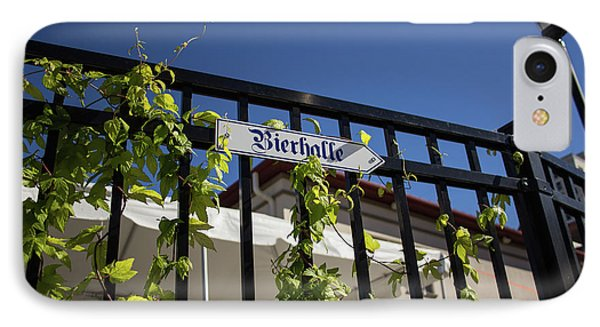 Bierhalle IPhone Case by Darrell Foster