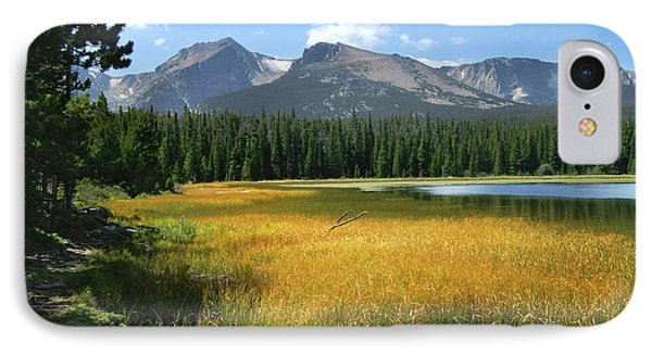 IPhone 7 Case featuring the photograph Autumn At Bierstadt Lake by David Chandler