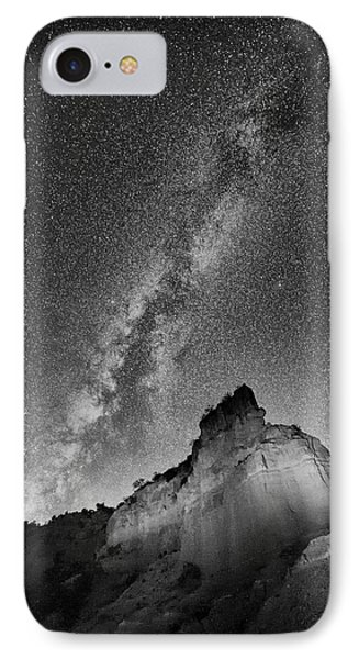 IPhone Case featuring the photograph Big And Bright In Black And White by Stephen Stookey