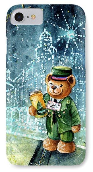 Big Bear Harrods IPhone Case by Miki De Goodaboom