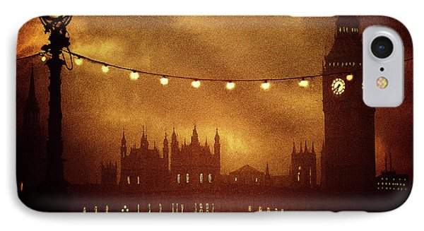 IPhone Case featuring the digital art Big Ben At Night by Fine Art By Andrew David