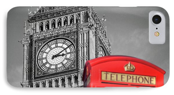 IPhone Case featuring the photograph Big Ben by Delphimages Photo Creations