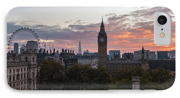 Big Ben London Sunrise IPhone 7 Case by Mike Reid