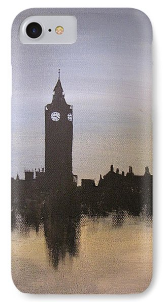 IPhone Case featuring the painting Big Ben Of London by Gary Smith