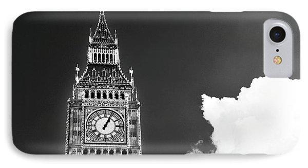 Big Ben With Cloud IPhone Case