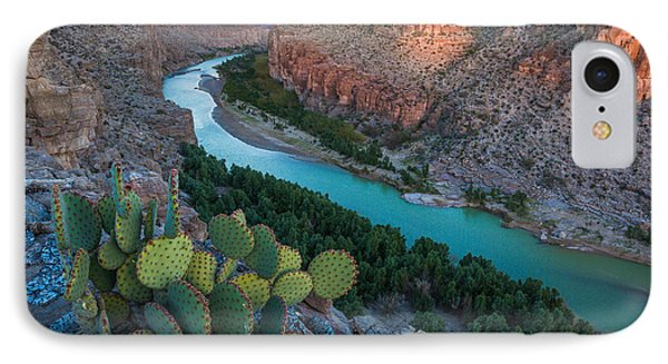 Big Bend Evening IPhone Case by Inge Johnsson