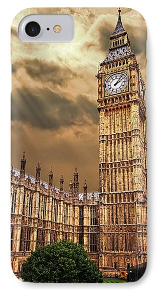 Big Ben's House IPhone 7 Case by Meirion Matthias