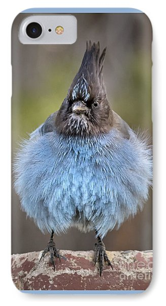 Big Blue IPhone Case by Alice Cahill