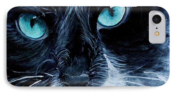IPhone Case featuring the painting Big Blue by Mary-Lee Sanders